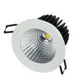 Shenzhen LED Lighting 12W Recessed LED Downlight Cutout 90mm