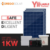 Moregosolar 1kw 200ah off Grid Solar Panel System Kit with Best 6bb Solar Cells