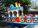 Amusement Machine Pirate Ship with Trailer