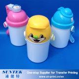 400ml Sublimation Custom Printing Blank Plastic Children Kids Water Bottle