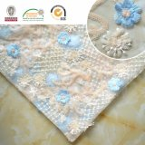 F138 Colorful Embroidery Polyester Lace Sequin Fabric