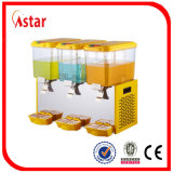 Food Grade Cold Juice Drink Dispenser with Four Nozzles Applied in Restaurant Store