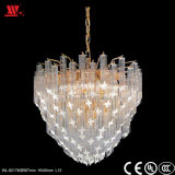 Newest Golden Crystal Chandelier with Glass Decoration Wl-82178