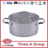 Stainless Steel Cookpot Casserole Saucepot