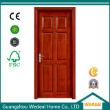 High Quality Painted Interior Solid Wooden Panel Door