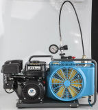 Gasoline Electric 300bar Portable Scuba /Sbca Diving Air Compressor for Breathing