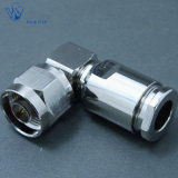Male Right Angle Clamp N Connector for LMR400 Cable