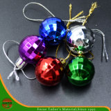 High Quality Christmas Assorted Plastic Hanging Ball (HANS-86#-67)