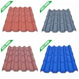 Sound Absorption Plastic Roof Tiles Terracotta