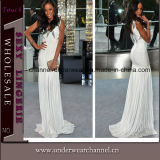 Good Quality Stylish Women Evening Luxury White Bridal Dress (T28238)