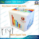 Custom Table Cloth Cover with 4FT/6FT/8FT Table (B-NF18F05016)
