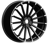 Aftermarket Alloy Wheel with Black Finishing (1038)