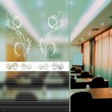 Tempered Frosted Silk Screen Glass Partition for Decoration