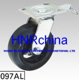 Black PVC Heavy Duty Swivel Caster