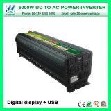 Intelligent 5000W Power Converter DC12/24V AC220/240V Inverters (QW-M5000)
