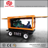 Movable Diesel Engine Centrifugal Water Pump with Trailer