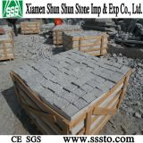 Grey Granite Cubic Stone for Paving
