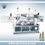 Round Glass Wine Bottle Double Front Back Side Labeling Machine