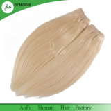 Finest Virgin Hair Supplier Blonde Color Straight Thickness 100% Human Hair Extension