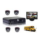 4CH D1 H. 264 CCTV Car DVR for School Bus Safety