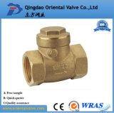 Factory Price Dn15-Dn100 High Quality Brass Spring Check Valve with Brass Core