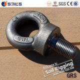 Steel Black Forged Bs4278 Long Shank Eye Bolt