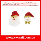 Christmas Decoration (ZY14Y111-1-2 14CM) Christmas Face
