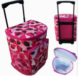 Printing Trolley Cooler Bag Convient Picnic Cooler Cases