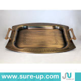 Food Serving Tray Arabic Tray Restaurant Serving Tray (OSHII)