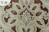 Chenille Big Flower Sofa Fabrics 410GSM (fth31818)