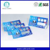 Paper & Plastic Prepaid Scratch Card