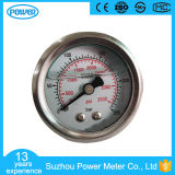 "1.5""40mm Stainless Steel Back Type 250bar Glycerine or Silicone Oil Filled Pressure Gauge"
