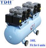 100L Volume CE Approved Dental Air Compressor (TDH-240/100)