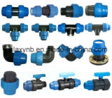 Competitive Light Blue PP Pipe Fittings for Irrigation