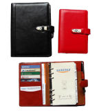 PU Loose-Leaf Notebook /Organiser with Pen (SDB-4001)