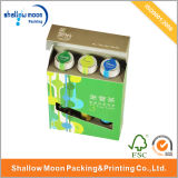 2016 New Design Drinking Bottles Pcking Paper Box (QY150084)