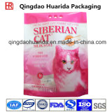 Stand up Plastic Composite Printed 8L Cat Litter Packing Bag