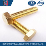 Carbon Steel Full Thread Hexagon Head Bolt with Competitive Price