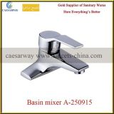 Sanitary Ware Deck Mounted Chrome Basin Faucet