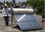 Non-Pressure Solar Panel Water Heater for Mexico