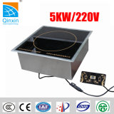 5kw Small Restaurant Commercial Hot Sale Built-in Induction Cooker