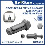 M10 Blind Steelwork Fitting Anchor Bolt Boxbolts for Hollow Structural Steel Sections