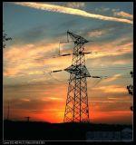 500kv Steel Transmission Power Line Tower