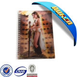 Custom All Kinds of 3D Cover Notebook for Promotional Gift
