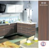 High Glossy Modern Wood Kitchen Cabinets (ZH-9601)