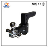 Adjustable Trailer Triple Ball Swivel Tow Hitch Ball Mount