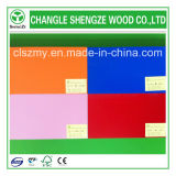 Colorful Melamine Faced 18mm Particle Board