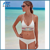 White Fashion Bikini Beachwear Swimwear Swimsuit for Lady