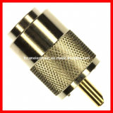 UHF Connector Pl259 Male Molded Crimp Type