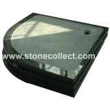 High Quality of Shower Cup Made of Granites (Shanxi Black)